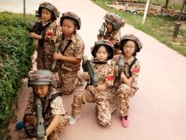 儿童夏令营野外项目