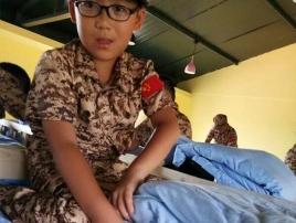 儿童夏令营军事项目
